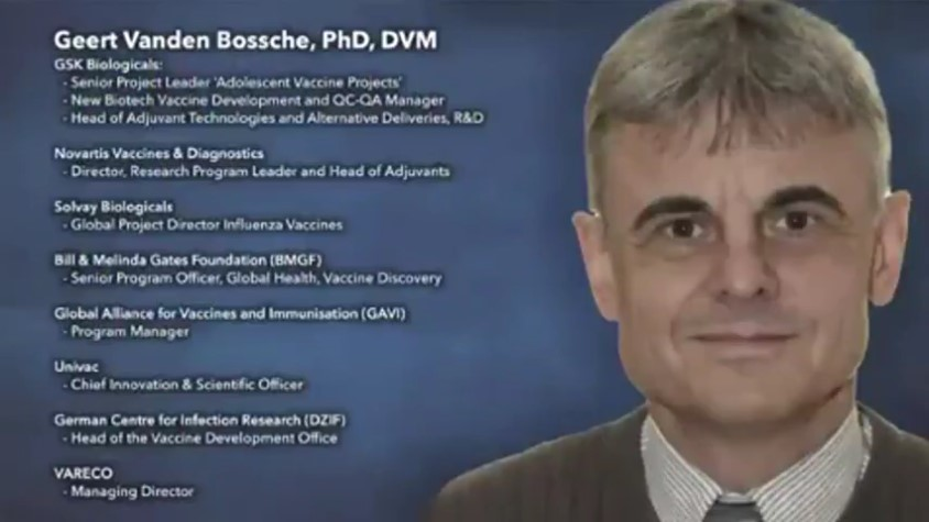 Geert Vanden Bossche Claims the Current COVID Shots will Produce a Worse Virus