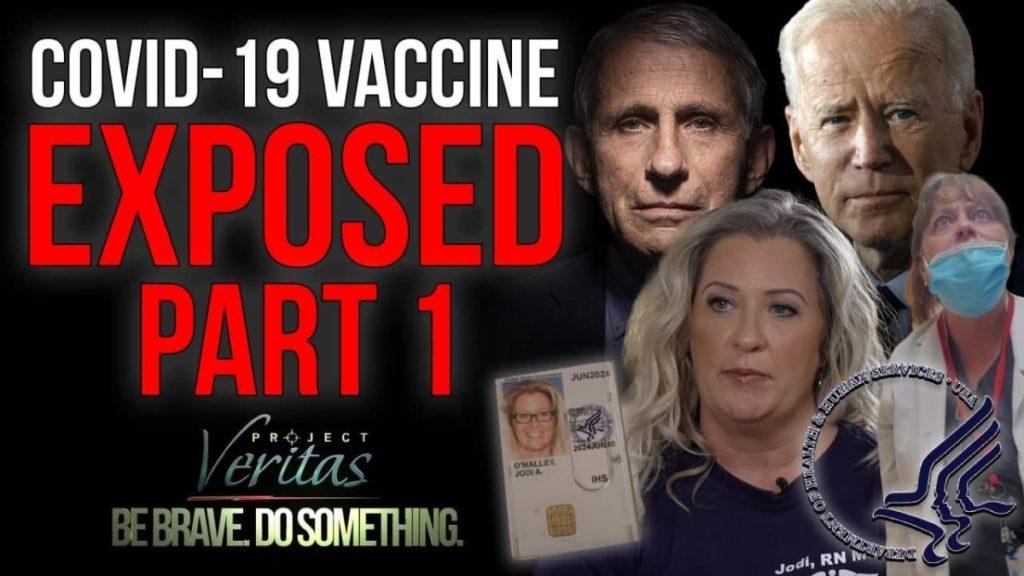 Project Veritas COVID Vaccine Expose Series, Part 1